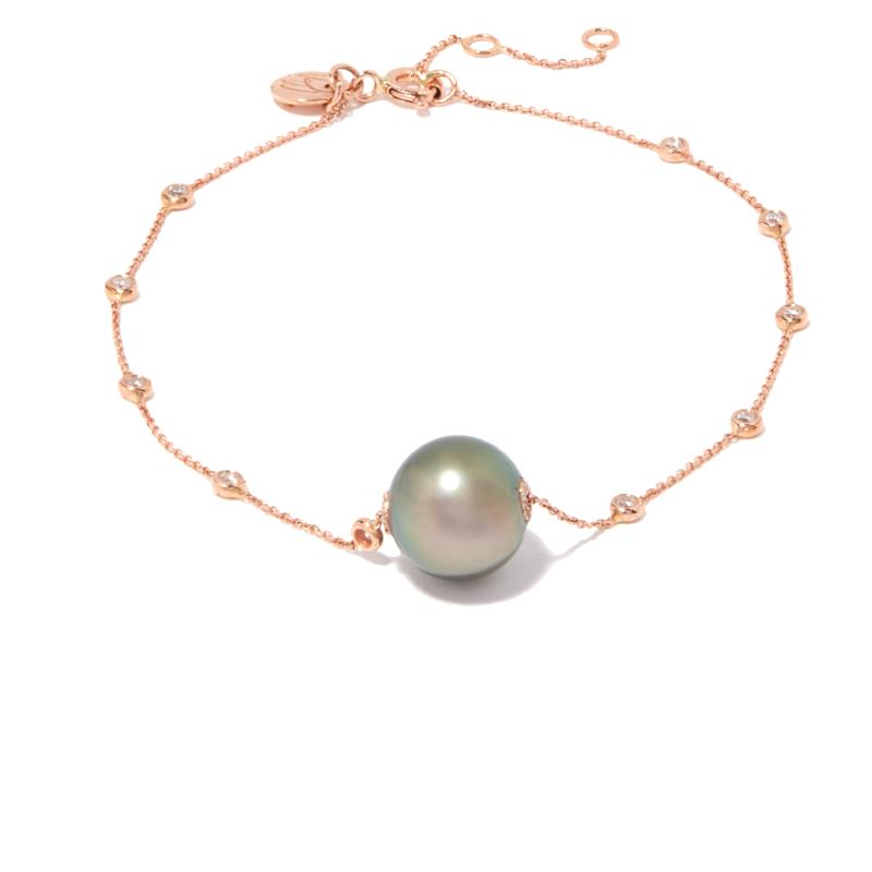 Bracelet Chaine et diamants