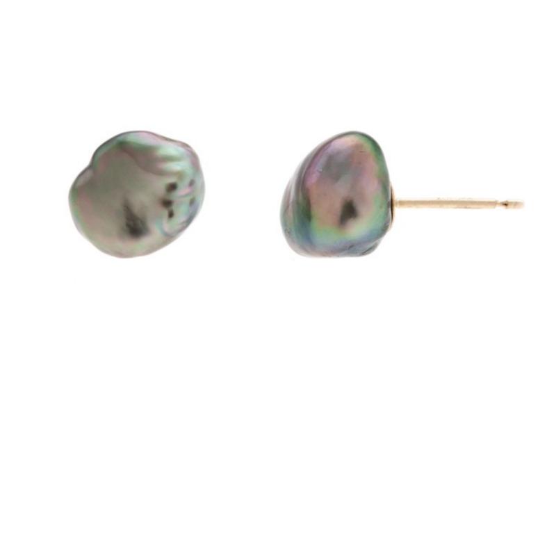 Boucles d'oreilles puces Keshi